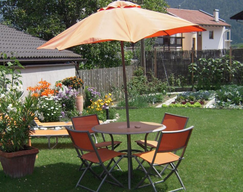 Unser sonniger Garten
