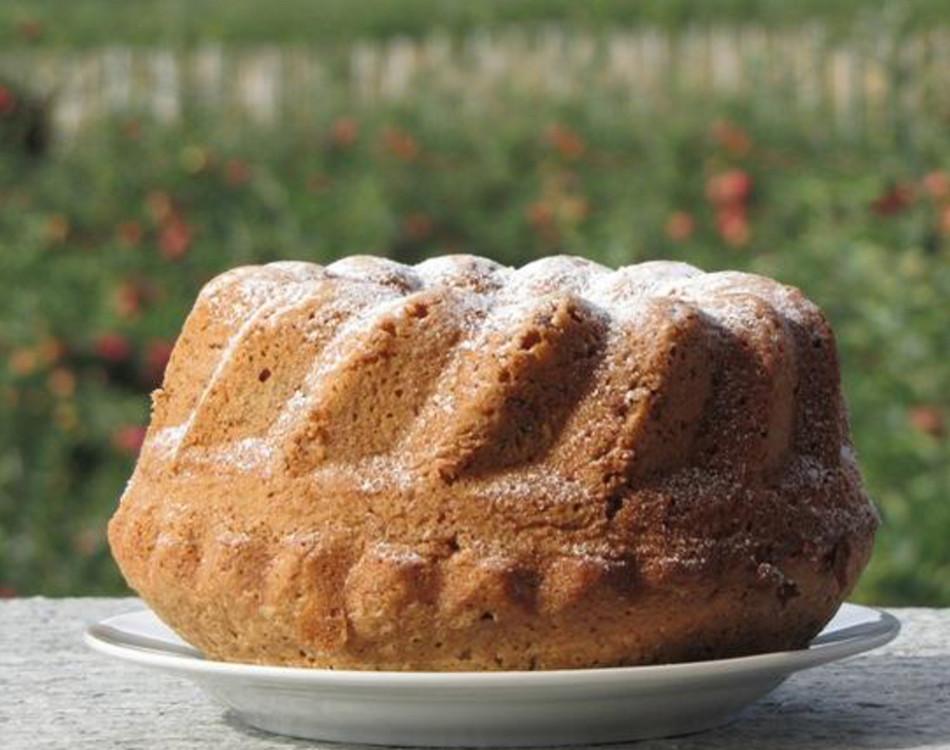 Selbstgemachter Kuchen