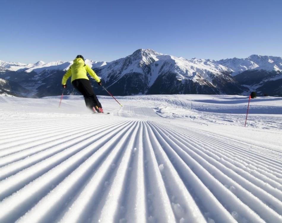 Skifahren in Schöneben