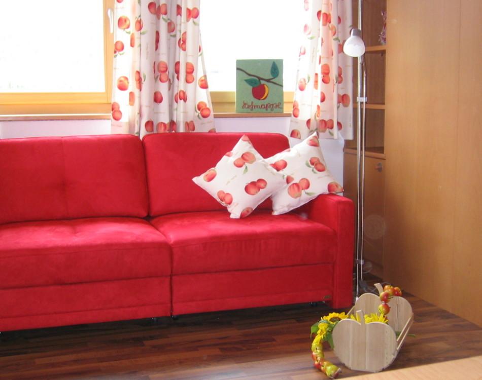 Il soggiorno confortabile